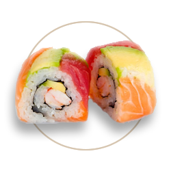 All You Can Eat Rainbow Roll